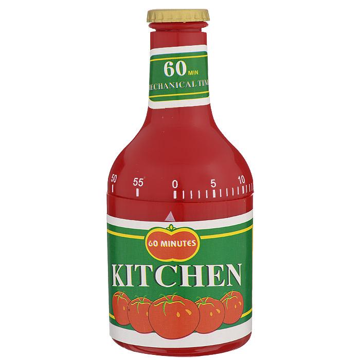 Таймер кухонный Кетчуп, на 60 минут820-016Кухонный таймер Кетчуп изготовлен из цветного пластика. Таймер выполнен в виде банки кетчупа.Максимальноевремя, на которое вы можете поставить таймер, составляет 60 минут. После того, как время истечет, таймергромко зазвенит.Оригинальный дизайн таймера украсит интерьер любой современной кухни, и теперь вы сможете без трудавскипятить молоко, отварить пельмени или вовремя вынуть из духовки аппетитный пирог.