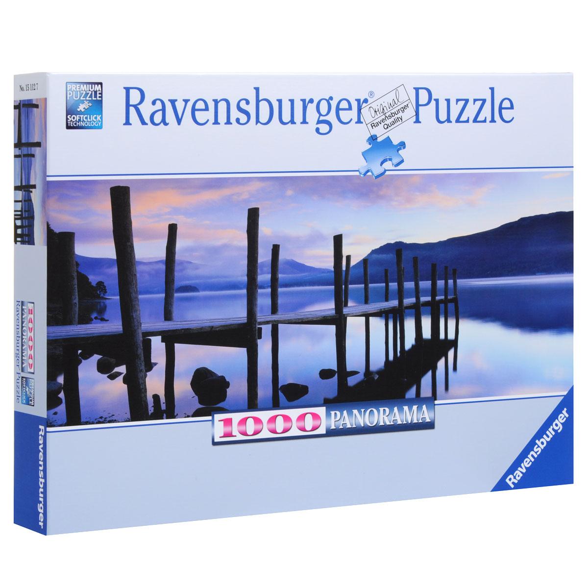 Ravensburger Идиллия на озере. Пазл панорамный, 1000 элементов