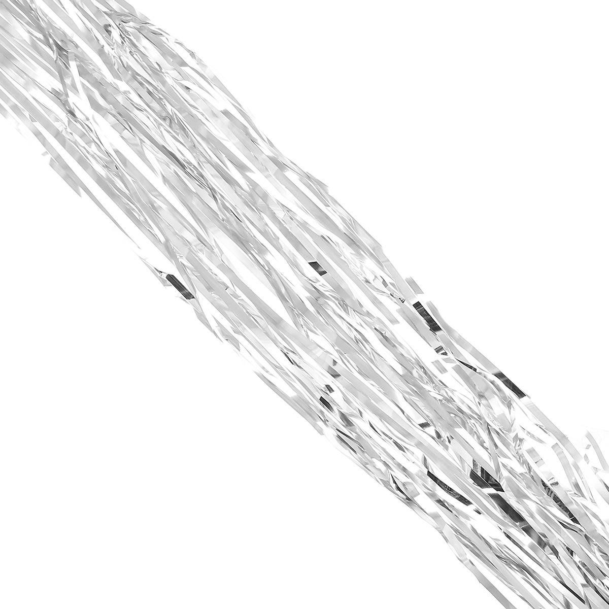 Дождик новогодний Magic Time, цвет: серебристый, 9 см х 200 см. 3491734917Новогодний дождик Magic Time, выполненный из ПЭТ, поможет вам украсить свой дом к предстоящим праздникам. А новогодняя елка с таким украшением станет еще наряднее. Новогодним дождиком можно украсить все, что угодно - елку, квартиру, дачу, офис. Коллекция декоративных украшений из серии Magic Time принесет в ваш дом ни с чем несравнимое ощущение волшебства! Создайте в своем доме атмосферу тепла, веселья и радости, украшая его всей семьей.