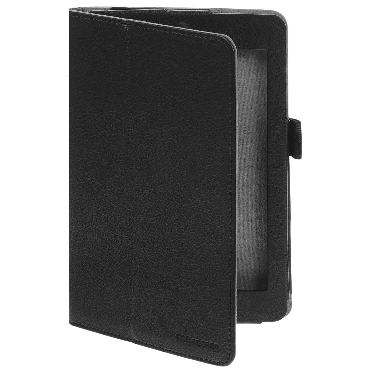 IT Baggage чехол для планшета Acer Iconia Tab B1-730/731, BlackITACB730-1Чехол IT Baggage для планшета Acer Iconia Tab B1-730/731 - это стильный и лаконичный аксессуар, позволяющий сохранить планшет в идеальном состоянии. Надежно удерживая технику, обложка защищает корпус и дисплей от появления царапин, налипания пыли. Имеет свободный доступ ко всем разъемам устройства.