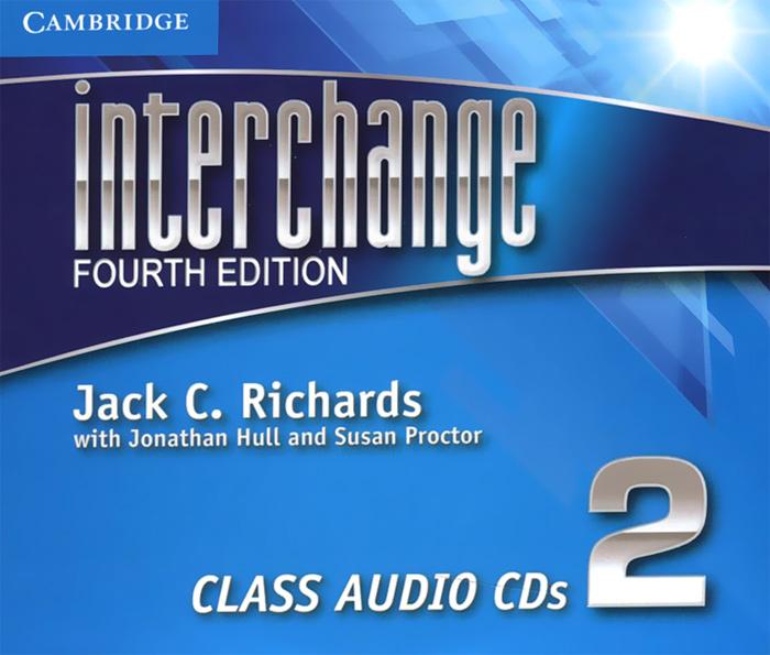Interchange 2: Class Audio CDs (аудиокурс на 3 CD)