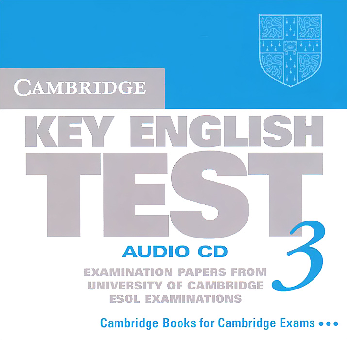 Cambridge Key English Test 3: Audio CD: Examination Papers from the University of Cambridge ESOL Examinations (аудиокурс CD) 100 flag currency domino wooden building blocks early childhood educational toys authentic standard kids baby boy and girl gift