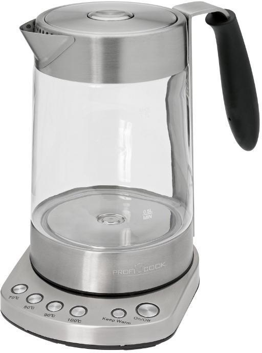 Profi Cook PC-WKS 1020 G электрочайник электрический чайник profi cook pc wks 1020 g
