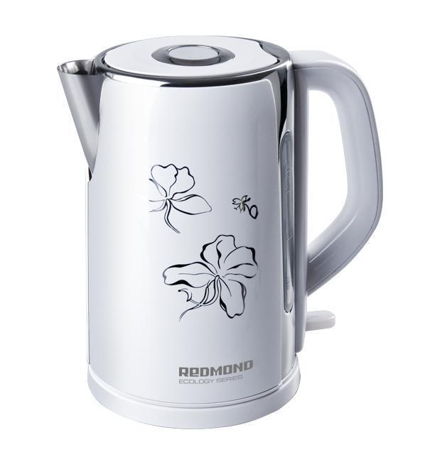 Redmond RK-M131, White электрический чайник цена и фото