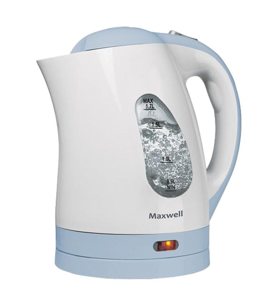 Maxwell MW-1014, BlueMW-1014, BlueНикто не будет спорить, что каждая хозяйка пытается по максимуму автоматизировать каждый сантиметр площади своей кухни. Именно по этому, каждое устройство здесь должно иметь минимальные габаритные размеры при максимальной функциональности. Примером такой комплектации может стать чайник Maxwell MW-1014, который совместил в себе все необходимые функции, чтобы сделать процесс кипячения воды максимально безопасным и быстрым. За это отвечает высокая мощность устройства, а это целых 2,2 кВт. Этого показателя вполне достаточно, чтобы за считанные минуты вскипятить 1,7 литра (максимально допустимый объем кипячения для этой модели). Следить за уровнем можно, используя двустороннюю шкалу, которая располагается по обе стороны устройства. Чайник Maxwell MW-1014 изготовлен из термостойкого пластика, который облегчает саму модель, а также позволяет хранить воду горячей достаточно продолжительное время. В качестве нагревательного элемента в этой модели используется плоское дно (один из видов скрытых...