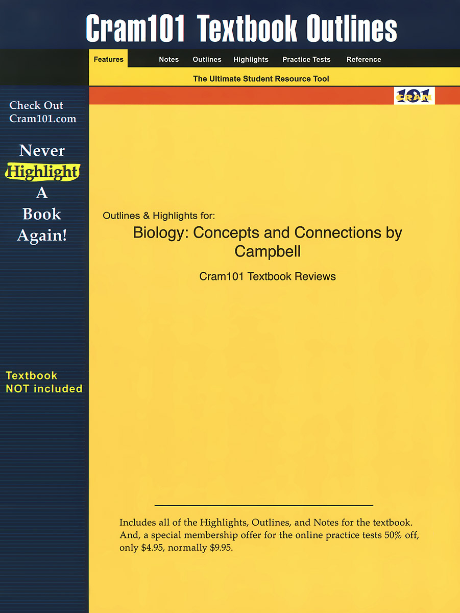 Outlines & Highlights for Biology: Concepts and Connections by Campbell босоножки jeffrey campbell jeffrey campbell je015awqpu51