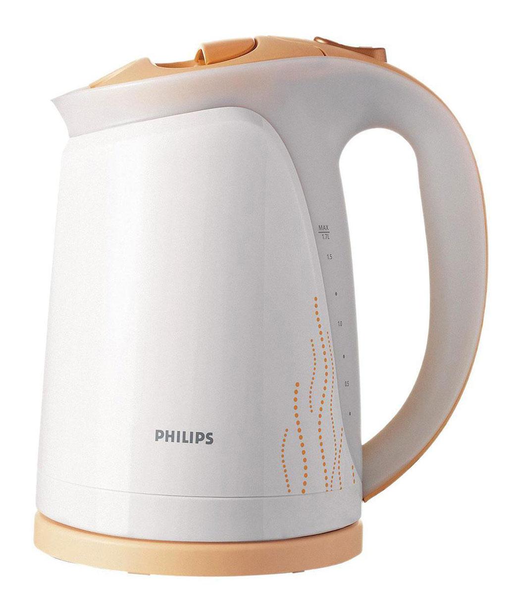 Philips HD4681/55 электрочайникHD4681/55Не правда ли, здорово за считаные секунды вскипятить воду и без лишних усилий очистить чайник Philips? Плоский и удобный в очистке нагревательный элемент позволяет быстро вскипятить воду. Благодаря моющемуся фильтру от накипи вода становится чистой, а напитки - без частиц известкового осадка. Катушка для удобного хранения шнура Шнур оборачивается вокруг основания, что позволяет легко разместить чайник на кухне. Беспроводная подставка с поворотом на 360° для удобства использования. Плоский нагревательный элемент для быстрого кипячения воды и легкой чистки Встроенный нагревательный элемент из нержавеющей стали обеспечивает быстрое кипячение и простую чистку. Широко открывающаяся откидная крышка для удобства наполнения и чистки чайника исключает контакт с паром.При включенном чайнике загорается подсветка Подсветка вокруг регулятора температуры четко показывает, что чайник включен.Комплексная система безопасностиКомплексная система безопасности для предотвращения короткого замыкания и выкипания воды. Функция автовыключения активируется, когда процесс завершается или прибор снимается с основания. Понятный индикатор уровня воды Понятный индикатор уровня воды удобен как для правшей, так и для левшей. Звуковой сигнал извещает о закипании воды.Фильтр против накипи двойного действия обеспечивает чистоту воды Двойной фильтр работает следующим образом: коллектор накипи удерживает накипь, а обычный фильтр предотвращает попадание частиц известкового налета в напитки.