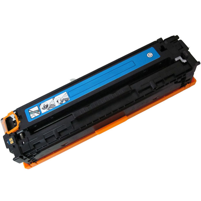 HP CE311A, Cyan тонер-картридж для HP Color LaserJet CP1012 Pro/CP1025 Pro картридж hp 933xl cn054ae cyan