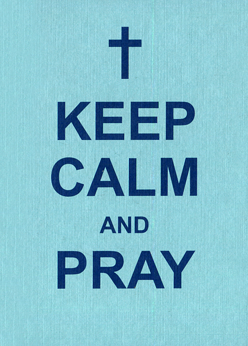 Keep Calm and Pray the trouble with paradise
