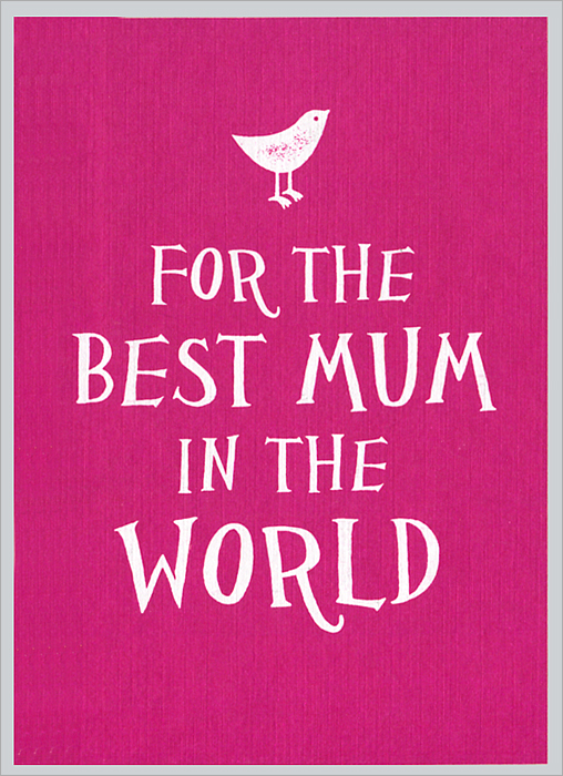 For the Best Mum in the World love a book of quotations