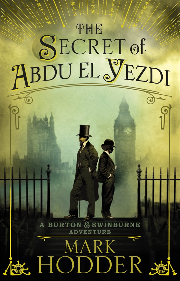 The Secret of Abdu El Yezdi: A Burton & Swinburne Adventure карт ридер orient cr 017b