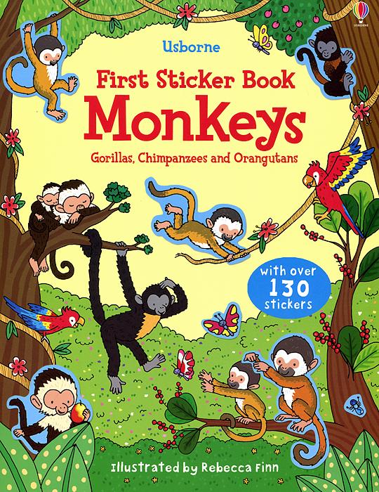 First Sticker Book: Monkeys