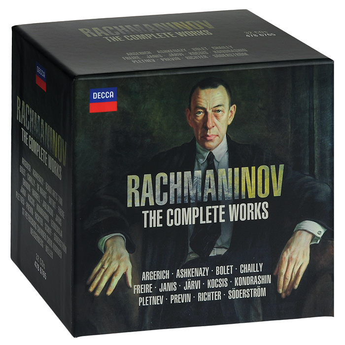 Rachmaninov. The Complete Works (32 CD)