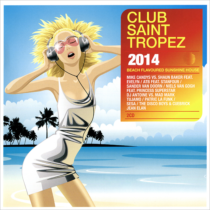 Club Saint Tropez 2014 (2 CD)