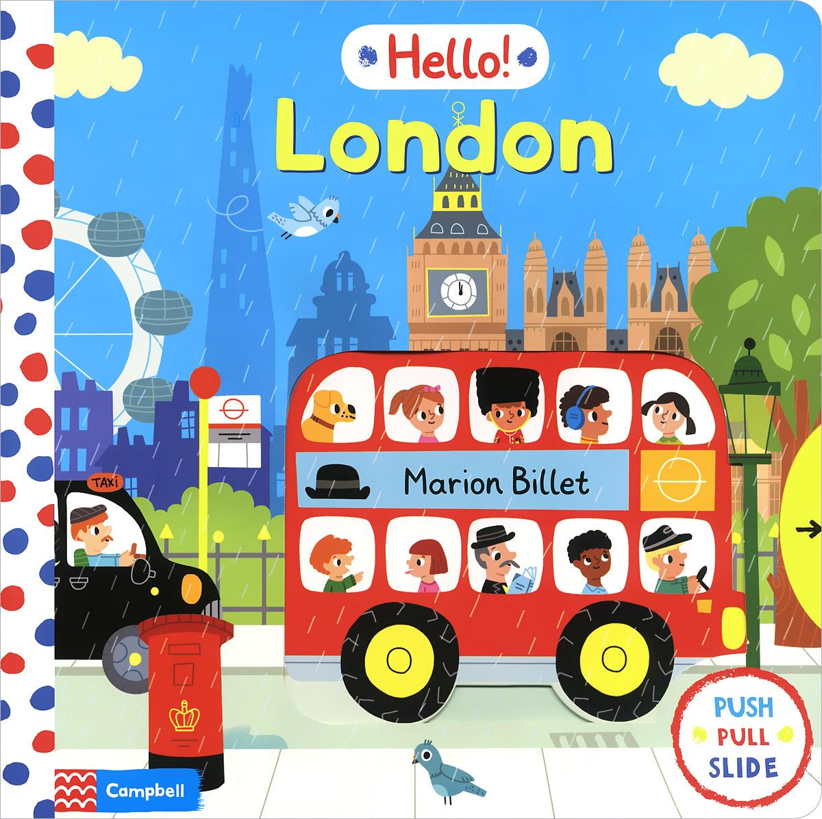 Hello! London 50 things to spot in london набор из 52 карточек