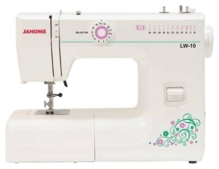 Janome PS-11, White швейная машина швейная машина janome sew dream 510