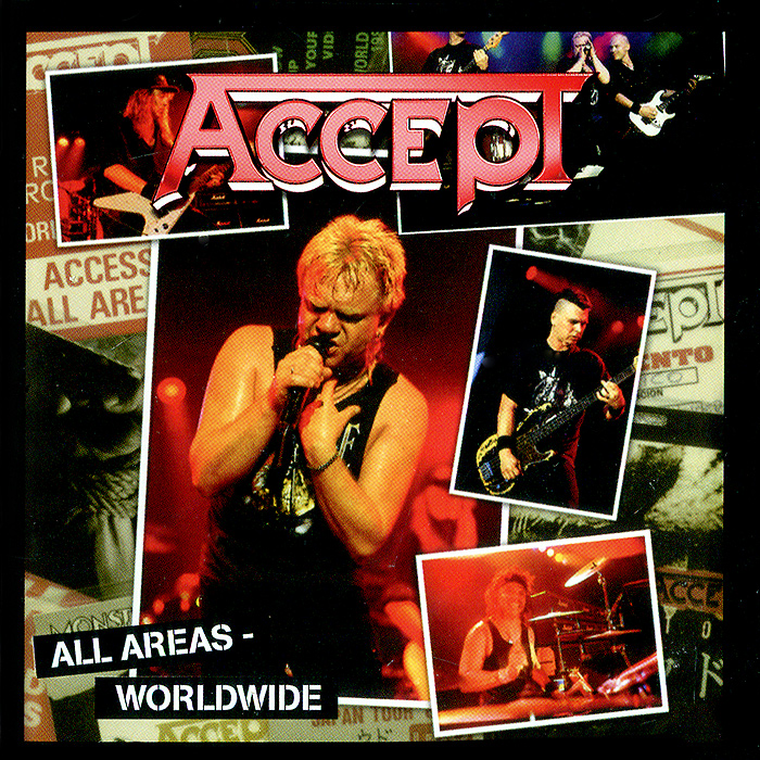 Accept Accept. All Areas - Worldwide (2 CD)