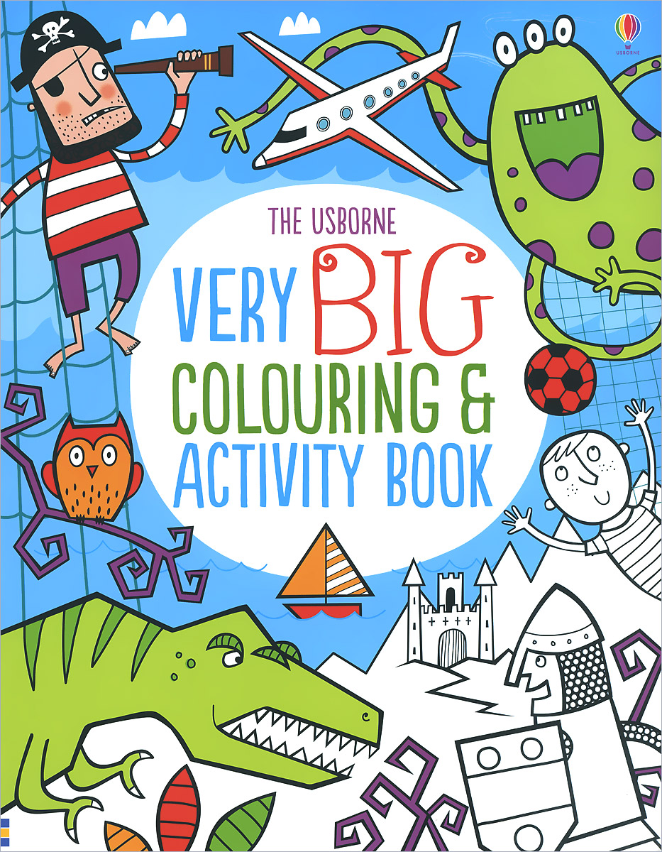 Very Big Colouring and Activity Book seeing things as they are