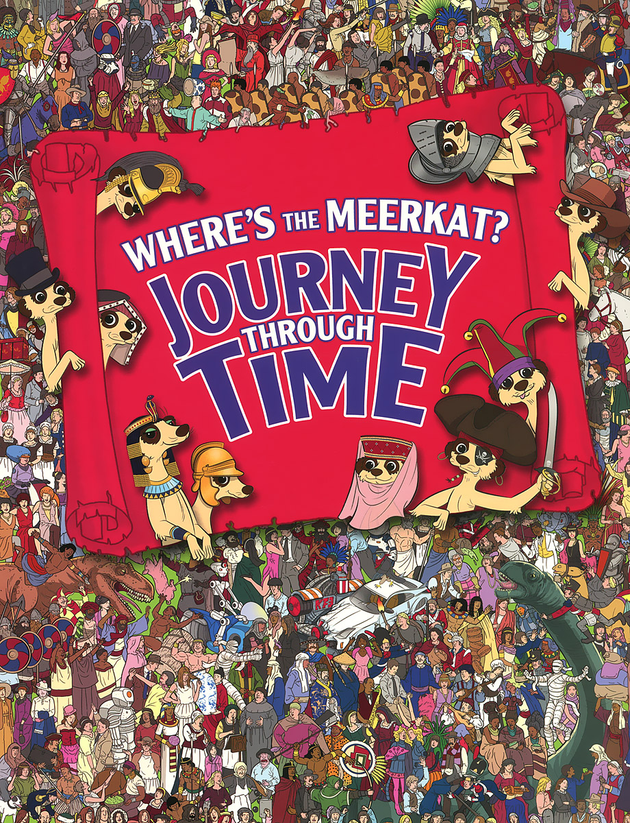 Where's the Meerkat? Journey Through Time morais r the hundred foot journey