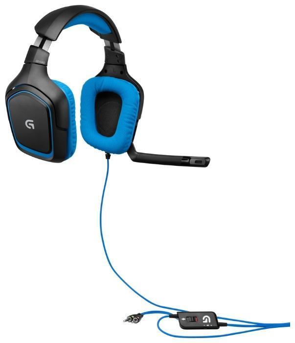 Logitech G430 Gaming Headset (981-000537) проводная игровая гарнитура стоимость