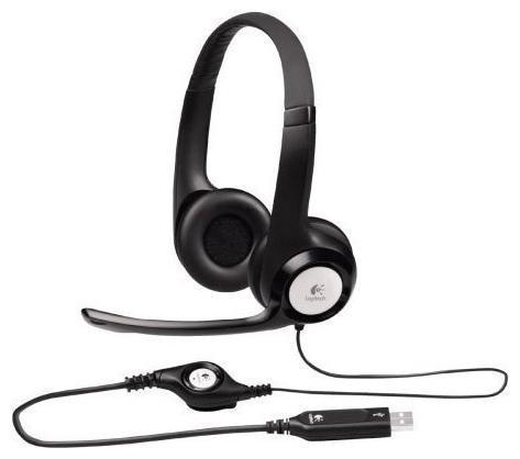 Logitech Stereo Headset H390 (981-000406) - Офисные гарнитуры