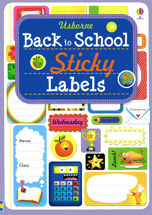 Back to School Sticky Labels you are here