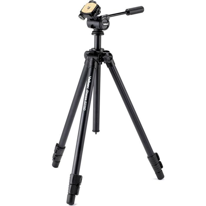 Velbon Sherpa 5370D штативSherpa 5370DШтатив Velbon Sherpa 5370D станет вашим верным спутником в съёмке и покорении мировых горных вершин. Данная модель имеет 3D головку и три секций для максимального удобства съёмки.