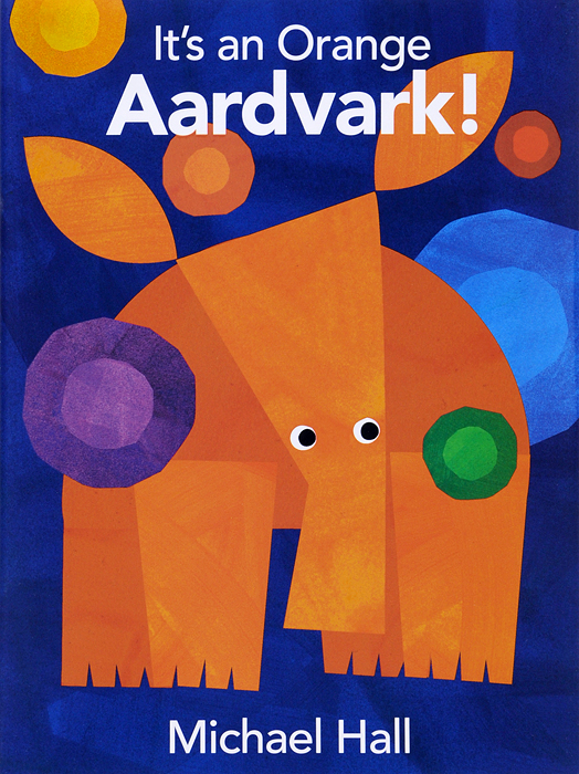It's an Orange Aardvark! my own very hungry caterpillar colouring book