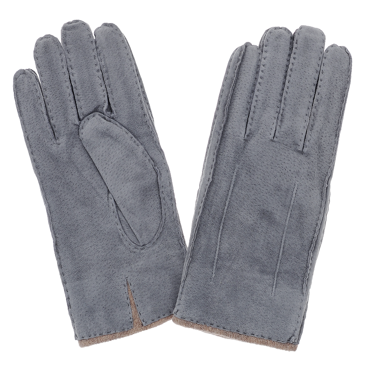 Перчатки мужские Dali Exclusive, цвет: серый. SP16_FORK/GR. Размер 8,5SP16_FORK/GRСтильные мужские перчатки Dali Exclusive не только защитят ваши руки, но и станут великолепным украшением. Перчатки выполнены из чрезвычайно мягкой и приятной на ощупь натуральной замши, а их подкладка - из натуральной шерсти. Перчатки с внешней стороны оформлены декоративными стежками.Модель благодаря своему лаконичному исполнению прекрасно дополнит образ любого мужчины и сделает его более стильным, придав тонкую нотку брутальности. Создайте элегантный образ и подчеркните свою яркую индивидуальность новым аксессуаром!