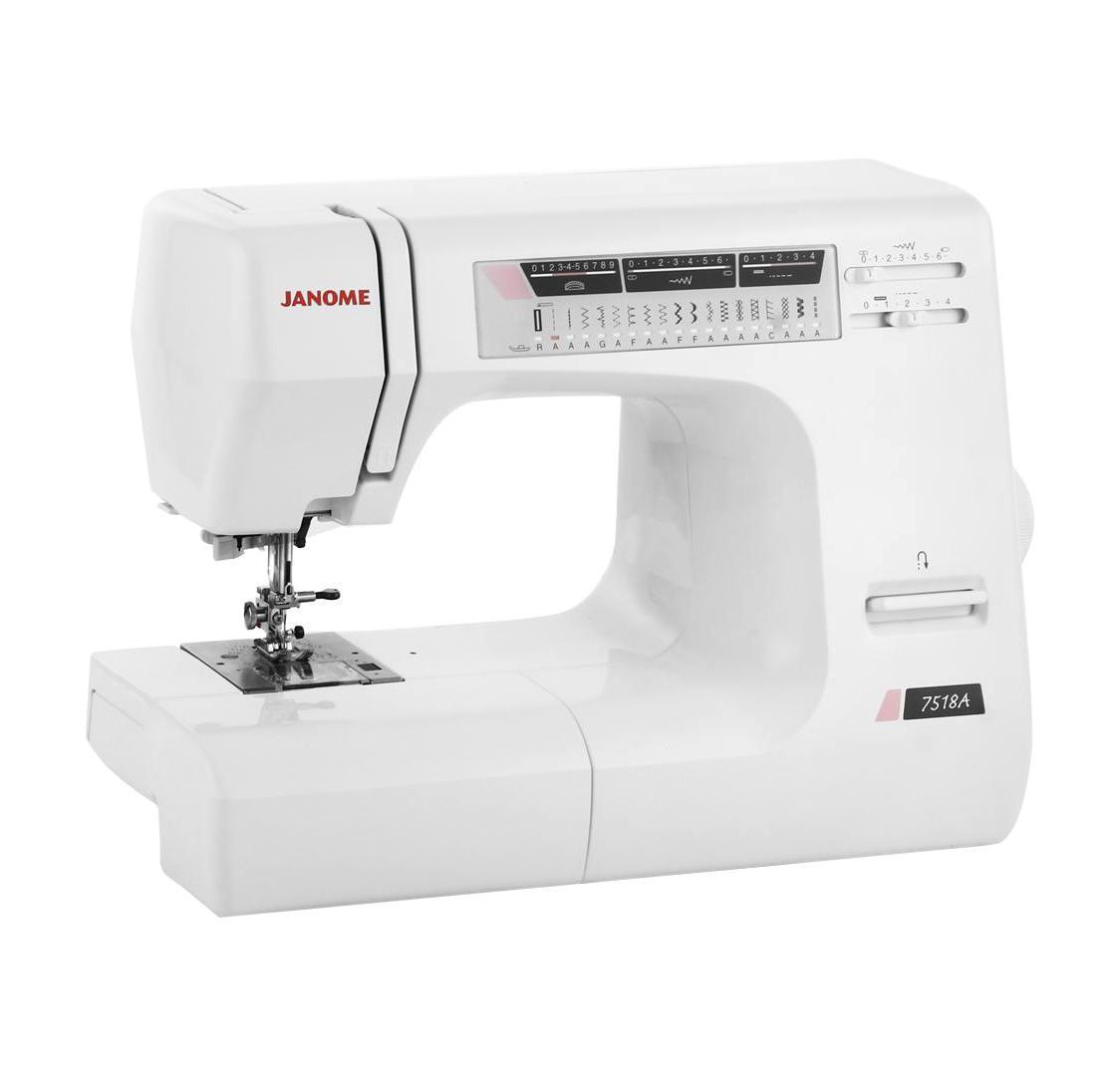 Janome 7518 A швейная машина