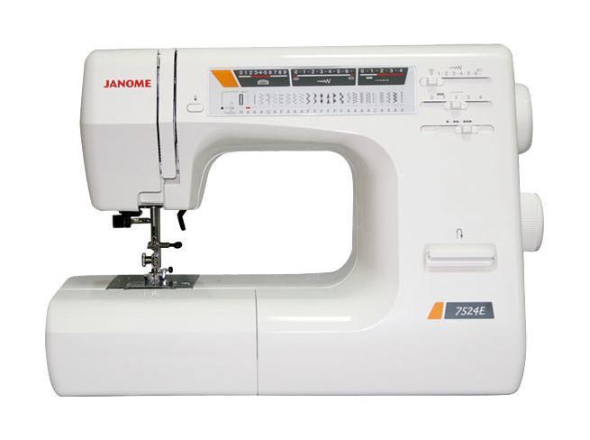 Janome 7524 E, White швейная машина