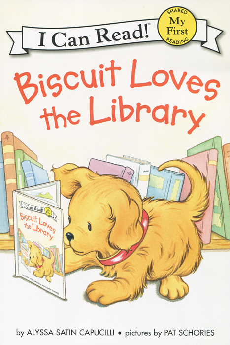 Biscuit Loves the Library ножовка садовая grinda 8 151853 z01