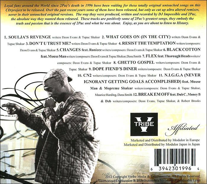 2PAC.  Ghetto Gospel.  The Birth of a Legend