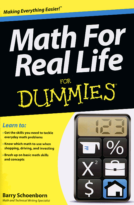 Math for Real Life for Dummies christopher danielson common core math for parents for dummies with videos online