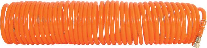 Соединение быстросъемное. Спиральный шланг с соединительными узлами.