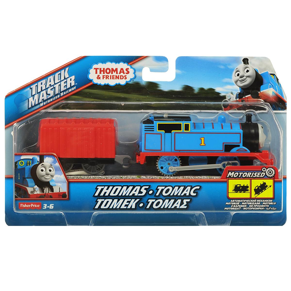 Thomas&Friends Базовый паровозик Томас, цвет: синий, красный программа friends