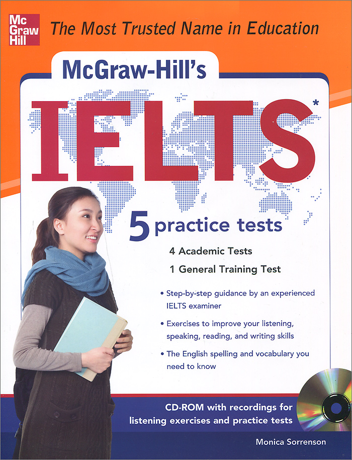 McGraw-Hill's IELTS (+ CD-ROM) reading for ielts 4 5 6 0 student s book with answer key