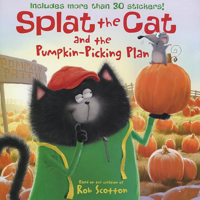 Splat the Cat and the Pumpkin-Picking Plan halloween paper pumpkin candle lantern orange