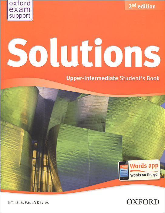 Solutions: Upper-Intermediate: Student Book davies paul a falla tim solutions 2nd edition upper intermediate workbook with cd rom