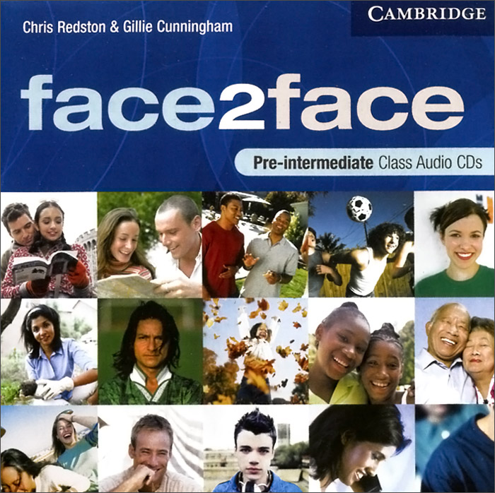 Face2face: Pre-intermediate (аудиокурс на 3 CD) total english pre intermediate students book dvd rom