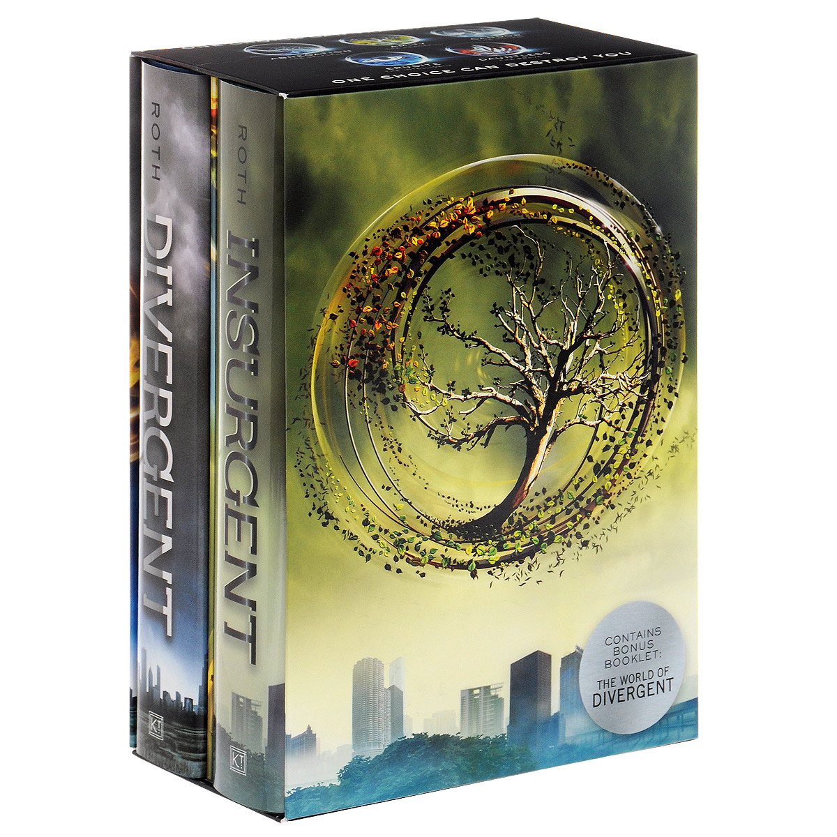 Divergent Series (комплект из 2 книг) four a divergent collection