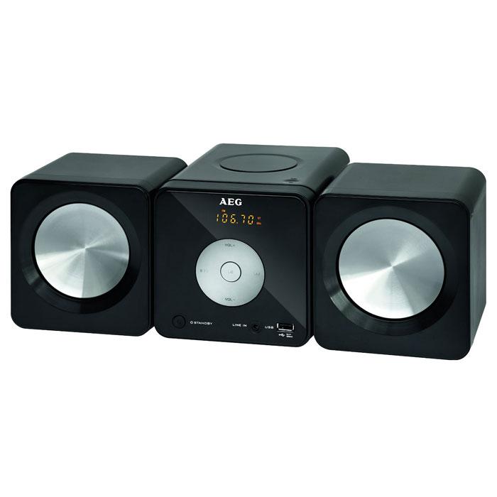 AEG MC 4463, Black микросистема - Музыкальные центры