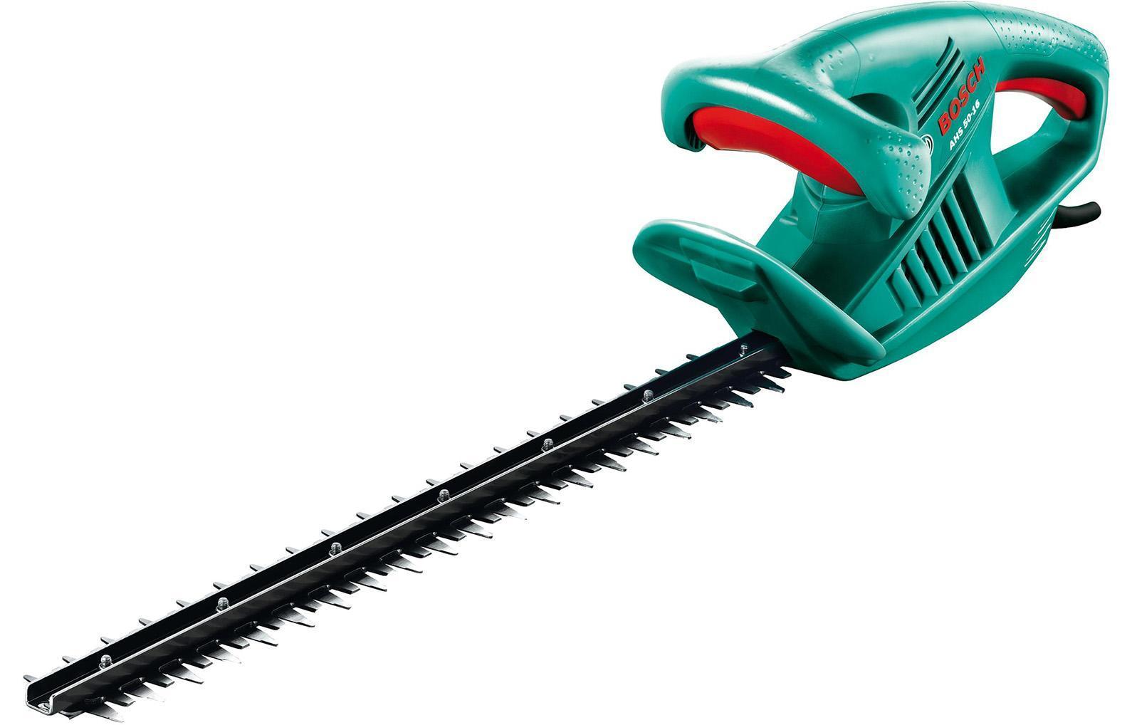 Кусторез Bosch AHS 60-16 0600847D000600847D00Лазерная заточка ножей.Данную модель можно включать в незаземленные розетки, благодаря наличию двойной изоляцииСпециальный экран защищает руку оператора от веток и сучков.Ограничитель кабеля, препятствующий отсоединению удлинителя Тип ножа: двусторонняя шина. Расстояние между лезвиями: 16 мм.