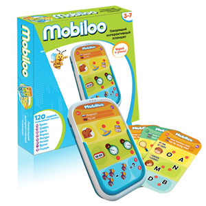 Развивающая игрушка ZanZoon Интерактивный планшет Mobiloo интерактивный планшет для детей zanzoon mobiloo