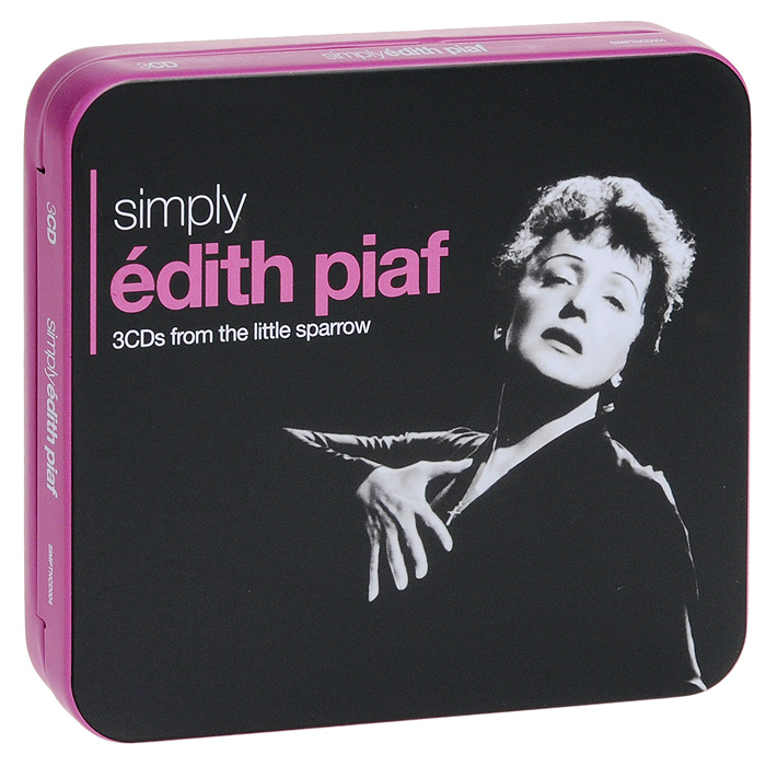 Эдит Пиаф Edith Piaf. Simply Edith Piaf (3 CD) эдит пиаф edith piaf 48 titres originaux 2 cd