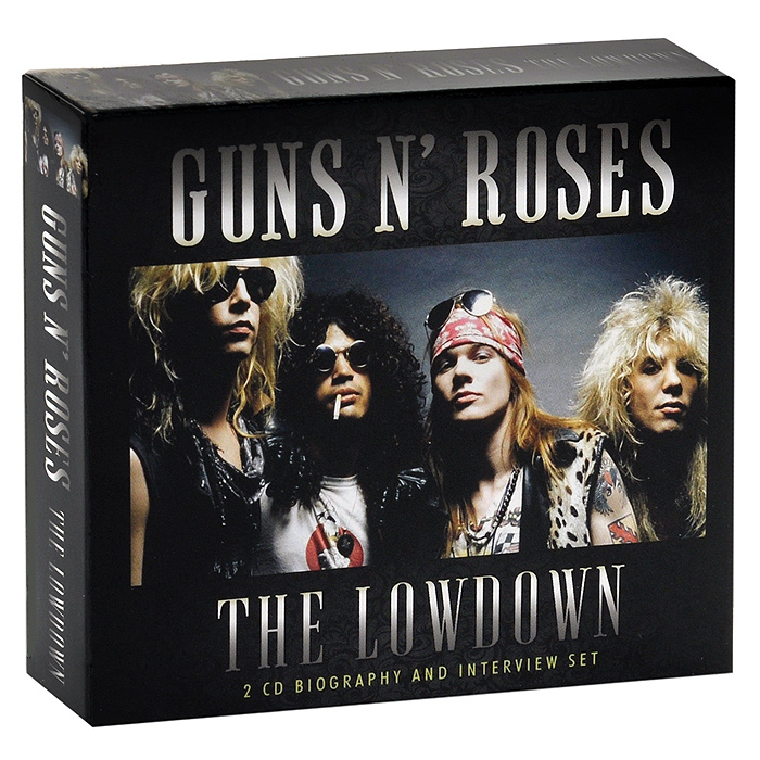 Guns N' Roses Guns N' Roses. The Lowdown (2 CD) футболка стрэйч printio guns n roses