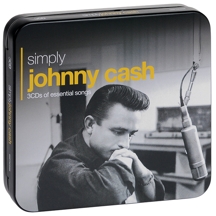 Джонни Кэш Johnny Cash. Simply Johnny Cash (3 CD) кисть флейцевая fit 01045