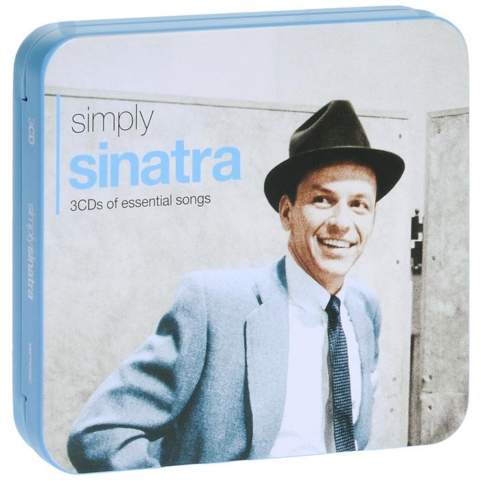 Фрэнк Синатра Frank Sinatra. Simply Sinatra (3CD) фрэнк синатра frank sinatra watertown