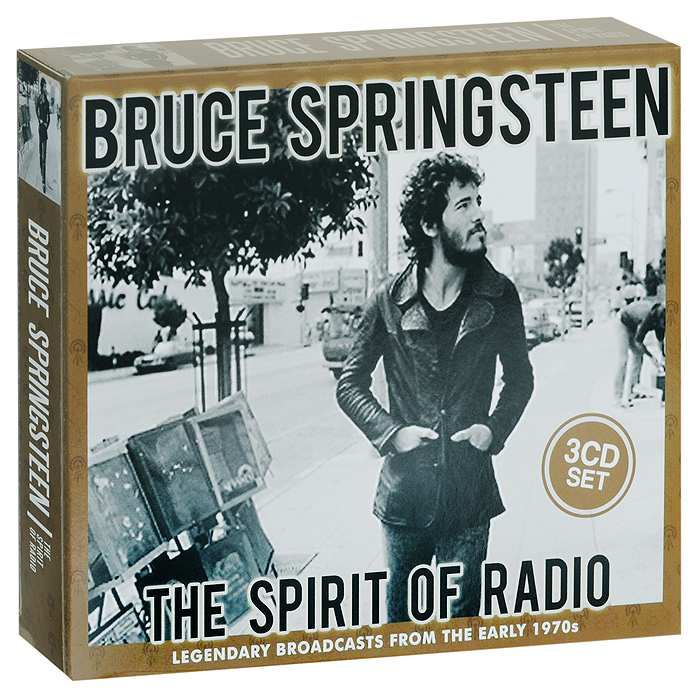 Брюс Спрингстин Bruce Springsteen. The Spirit Of Radio (3 CD) bruce springsteen live in dublin blu ray