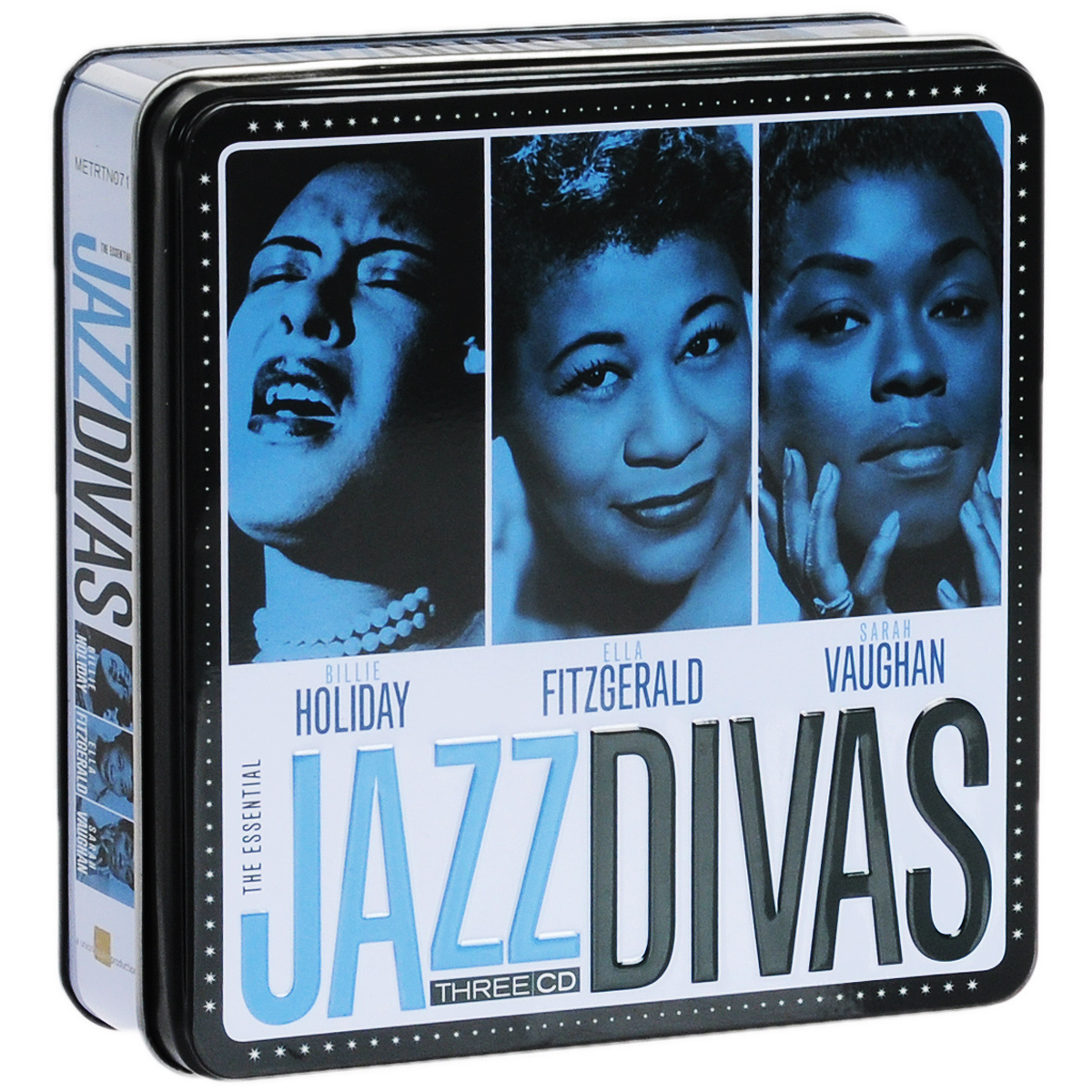 Элла Фитцжеральд,Билли Холидей,Сара Воэн Billie Holiday, Ella Fitzgerald, Sarah Vaughan. The Essential Jazz Divas (3CD) элла фитцжеральд the count basie orchestra tommy flanagan trio оскар питерсон ray brown duo jazz at the santa monica civic 72 3 cd
